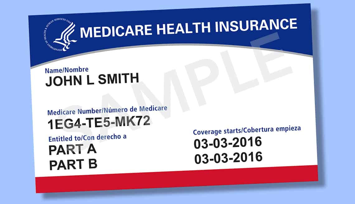 Medicare card turning 65